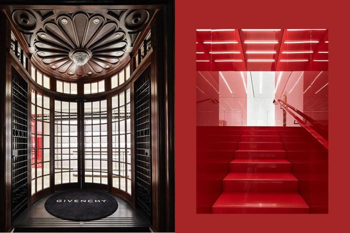 老建築與現代美學的火花:Givenchy 開設首家倫敦旗艦店,創意總監將品牌帶回家鄉!