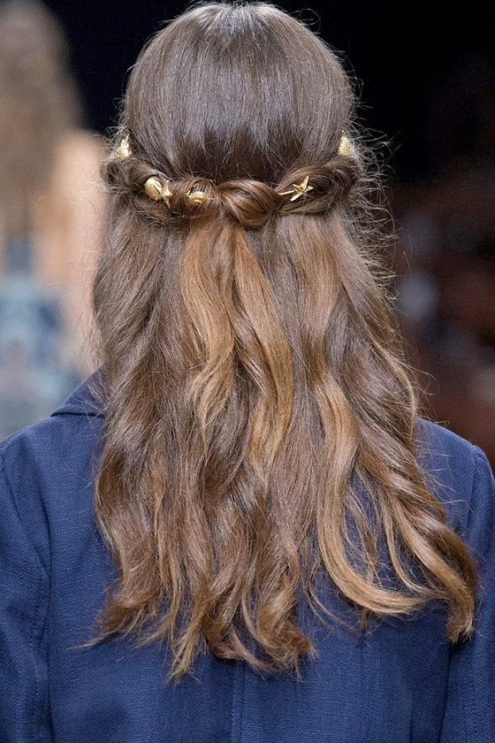 bridal hairstyle inspiration runway celeb wedding