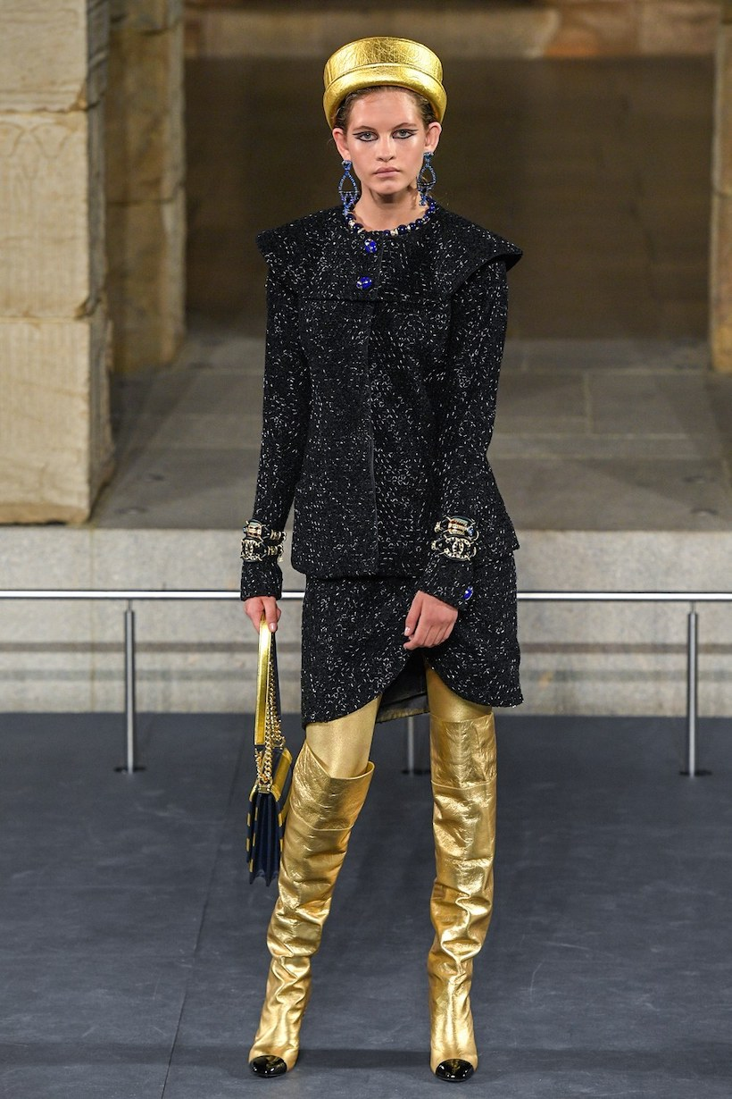 chanel Métiers d'art pre fall 2019 pharrell williams ny egypt