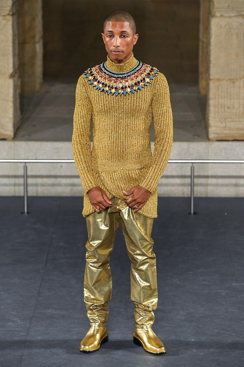 chanel Métiers d'art pre fall 2019 pharrell williams ny egypt