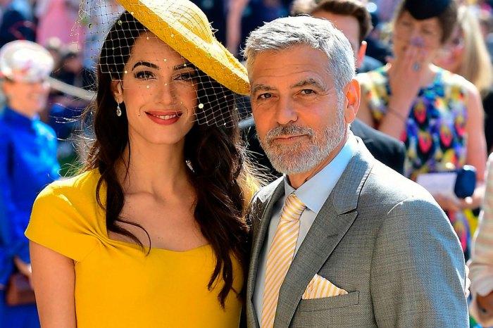 就快斷碼!Amal Clooney 參加皇室婚宴時穿的裙子線上開賣