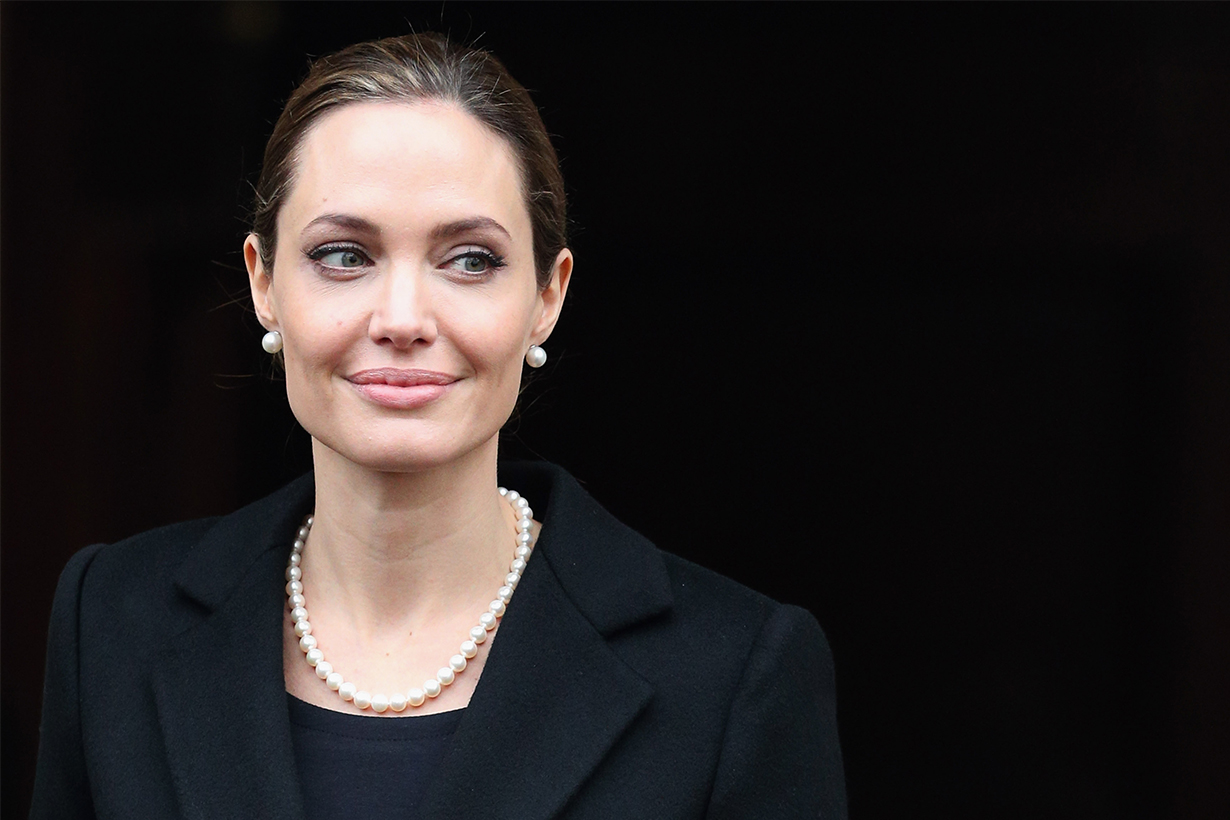Angelina Jolie won't rule out running for US presidency