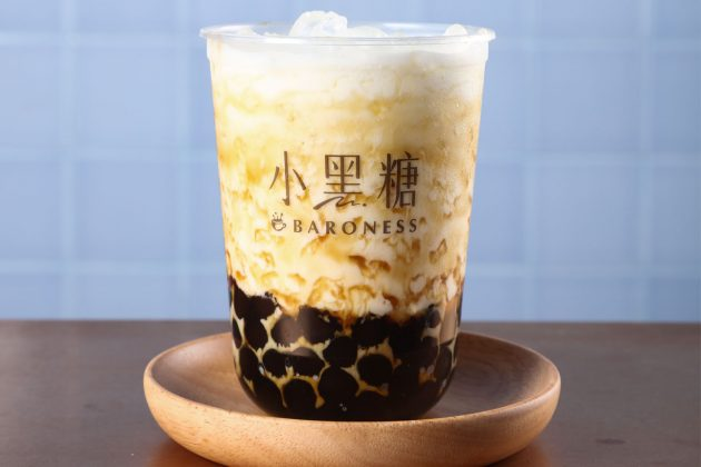 Baroness hong kong milk tea