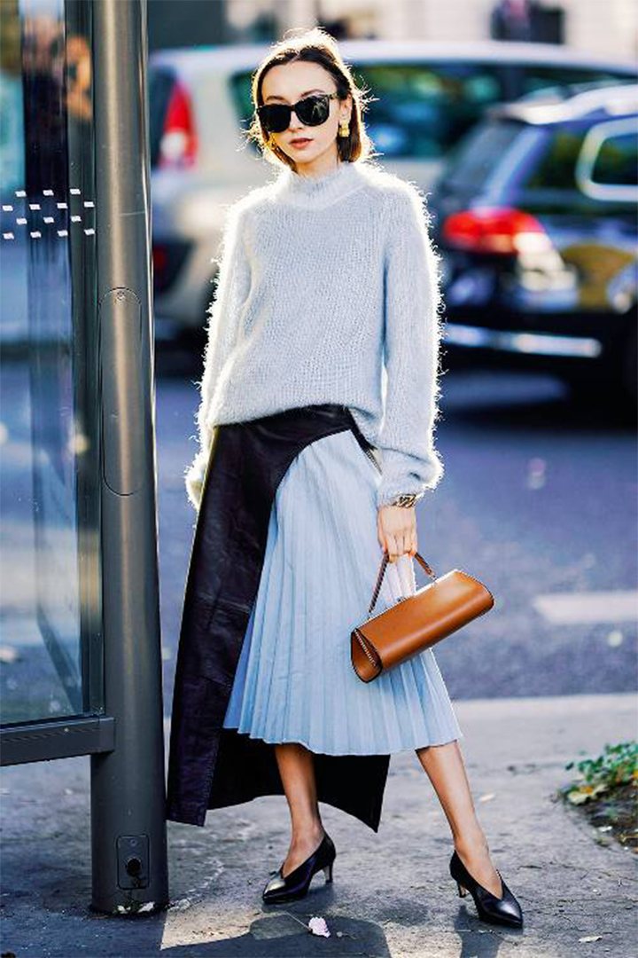 Blue And Brown Fashion Trend