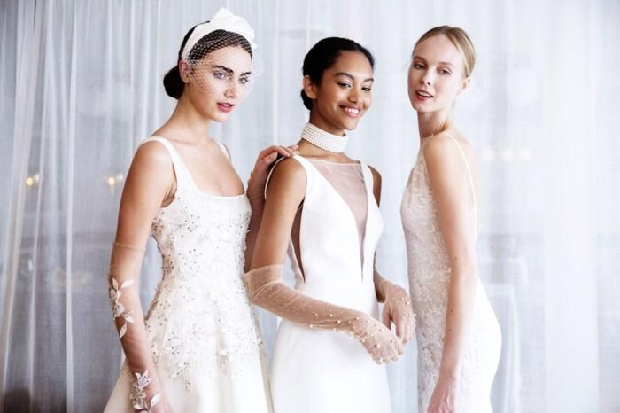 2019 年準新娘正猶豫選哪款婚紗?不妨參考頂尖設計師分享的 4 大趨勢!