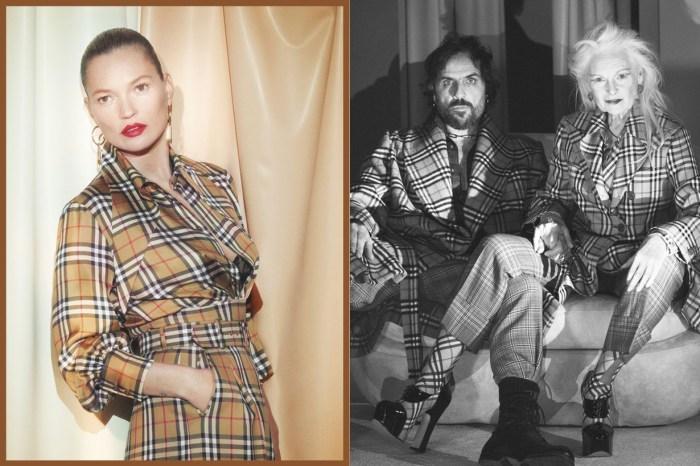 由 Kate Moss 帶領演繹新英倫格紋,年度話題系列 Burberry X Vivienne Westwood 限量登場!