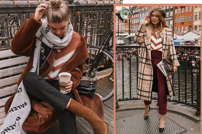 Instagram 達人一致裁定:冬天要買法式「雪佛龍毛衣」!
