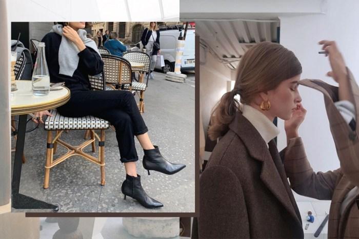 這位居法韓國女生的氣質穿搭 IG,令人更想光顧她的法式簡潔品牌!
