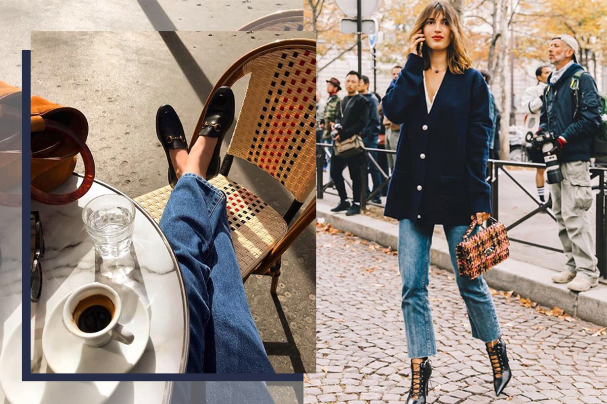 French Girls Love Wearing Jeans With Blazer
