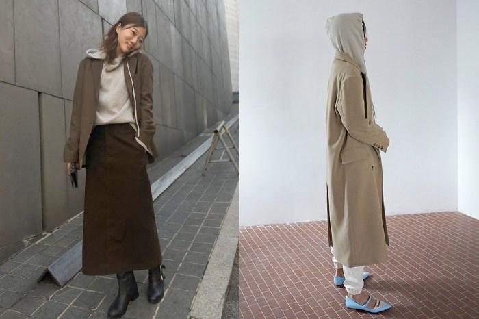每次穿 Hoodie 都被說是睡衣?跟韓國女生用這 3 樣單品襯,馬上變有型!