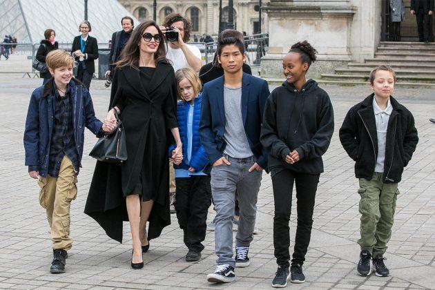 brad pitt angelina jolie child custody agreement 2018