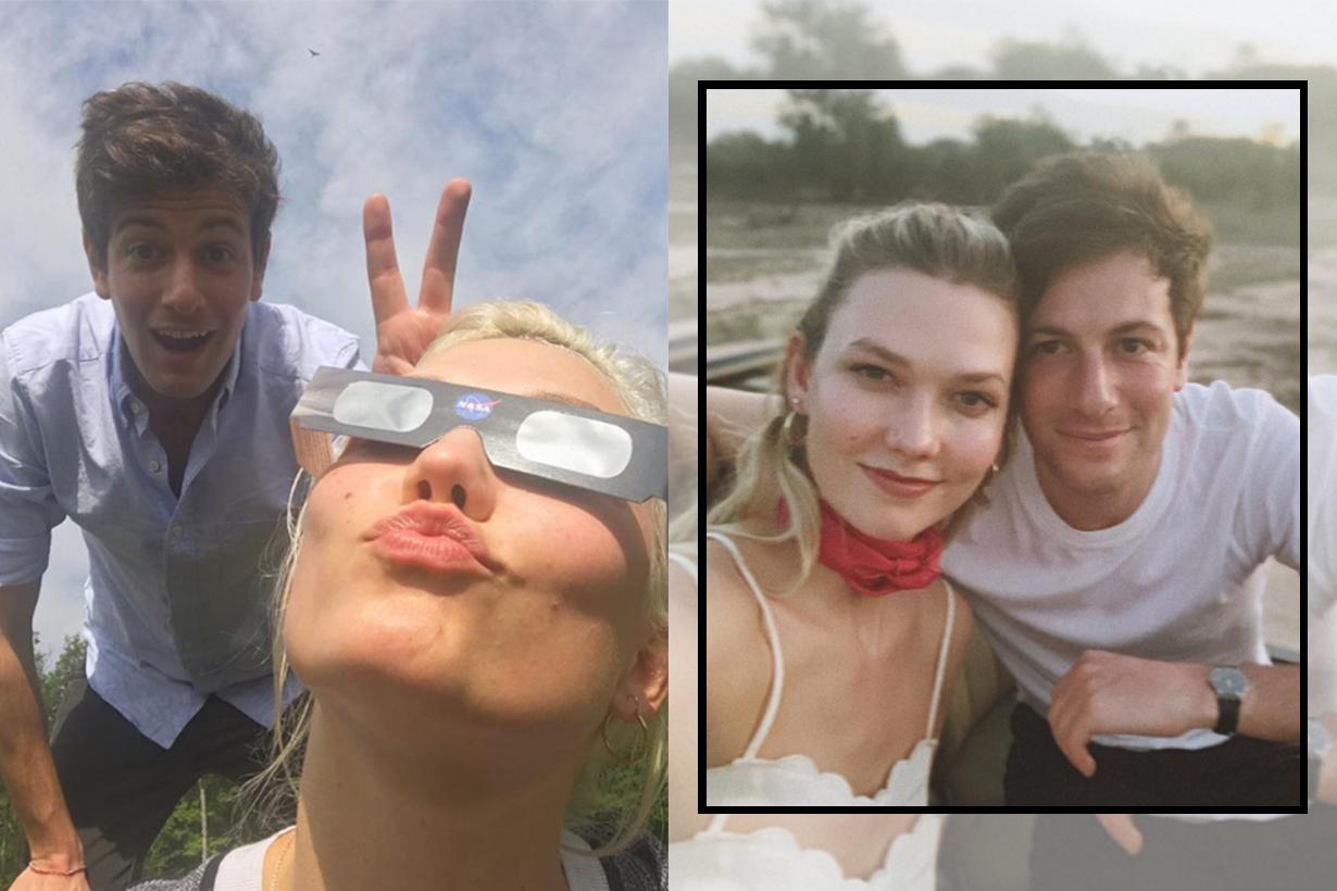 Karlie Kloss shares photographs from her honeymoon with Joshua Kushner