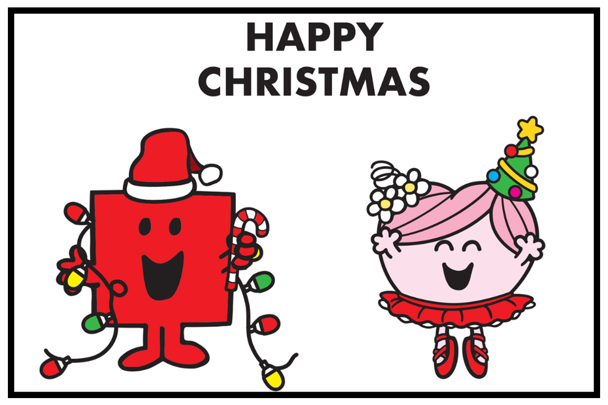 The Refinery X Mr. Men Little Miss Christmas Card 2018