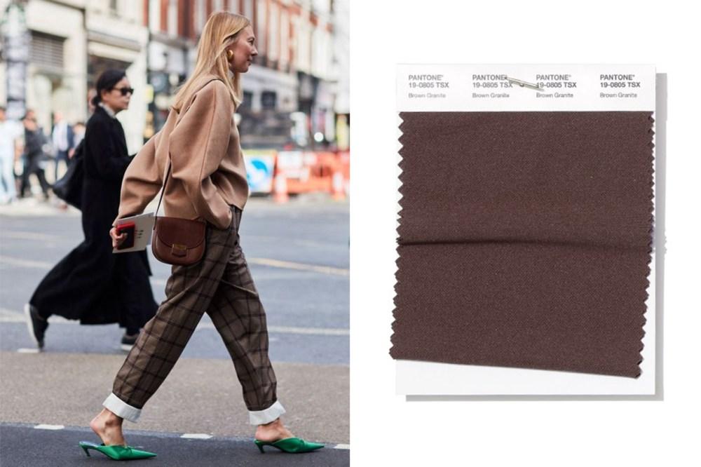Brown Granite Trend Street Style