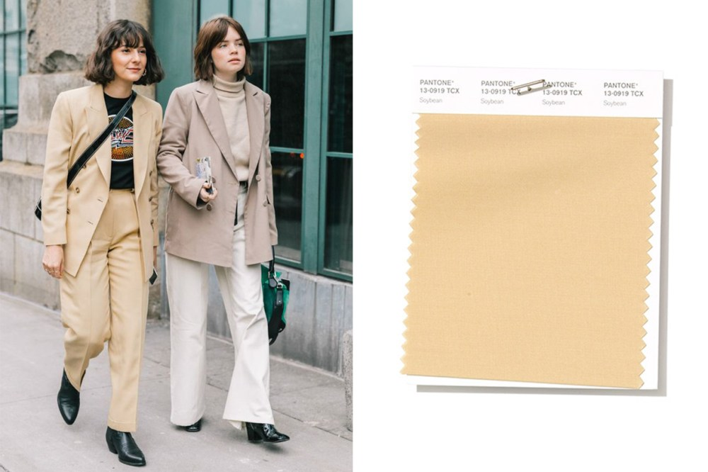 Soybean colour trend street style