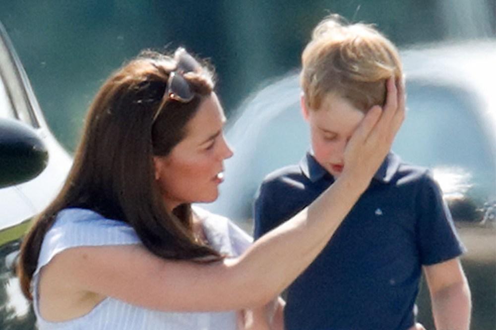 Prince-George-Crying Kate Middleton