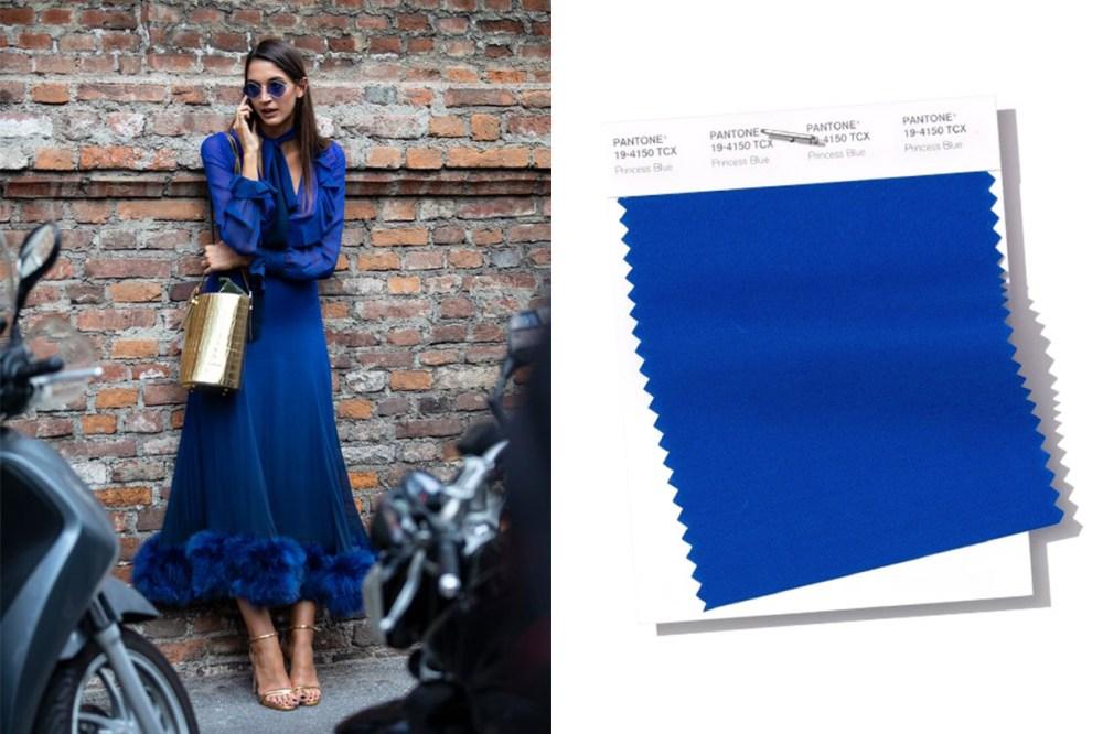 Pantone 2019 Princess-Blue-Street Style