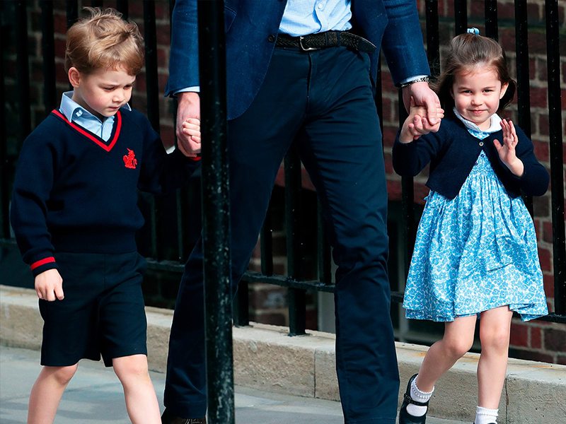 Princess Charlotte Re-Wore George's Old Outfit in the Family Christmas Card