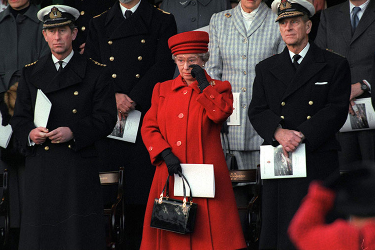 British Royals overcome with emotion in public