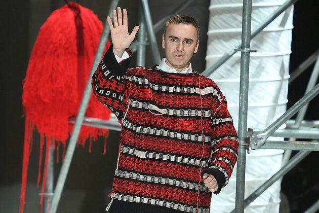 Raf Simons is leaving Calvin Klein