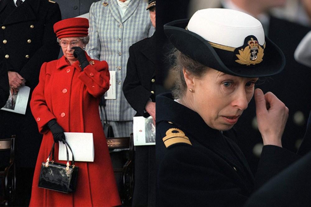Queen Elizabeth II Princess Anne Cry Moments HMY Britannia