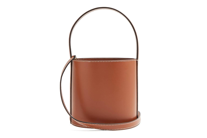 Staud Bissett Bag in Tan