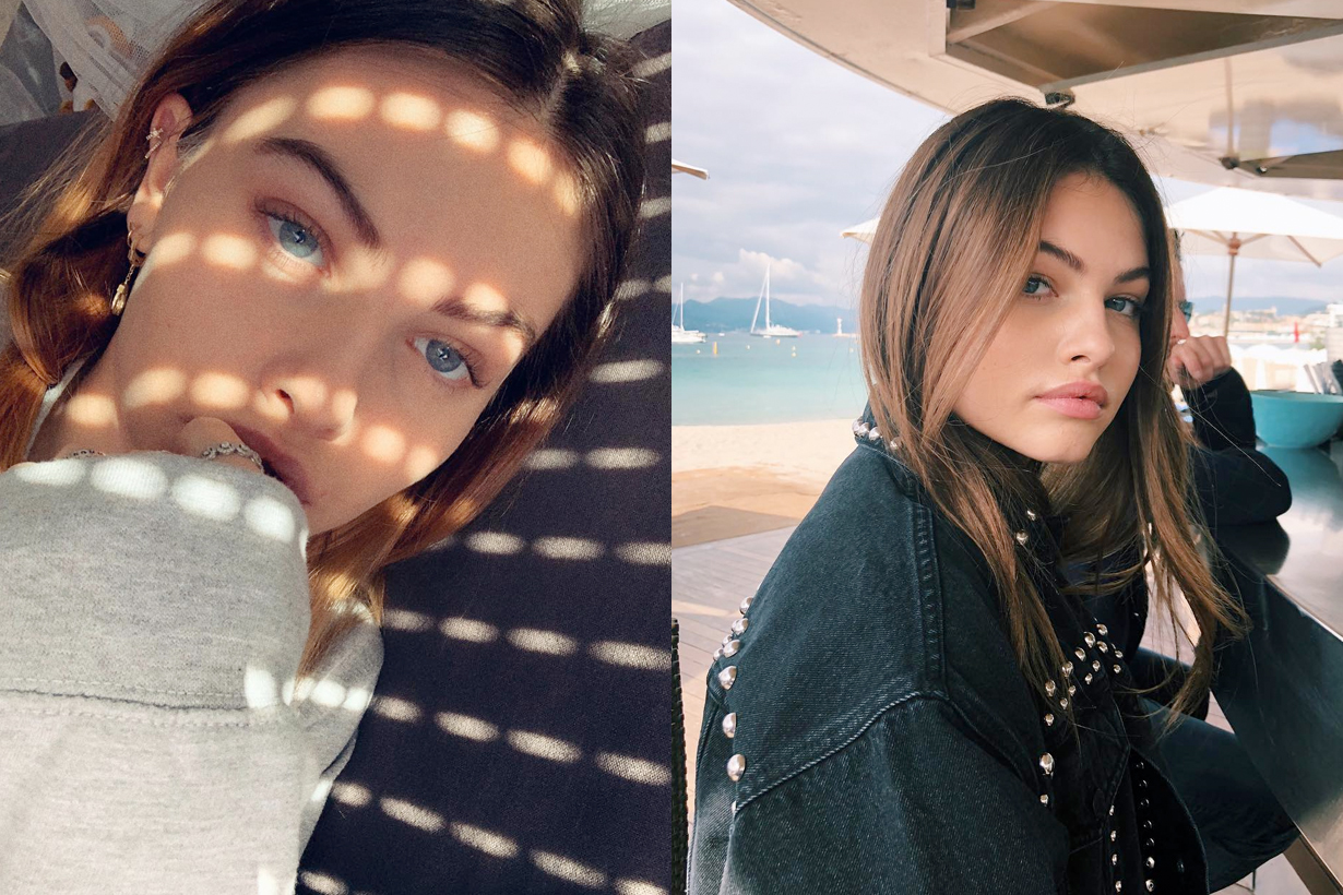 Thylane blondeau most beautiful face world who french model