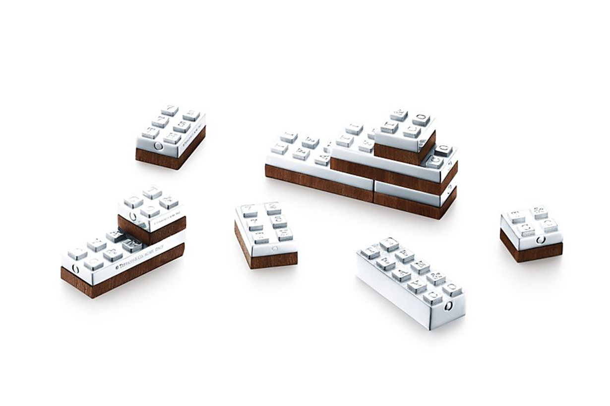 Tiffany & Co. Has Released Sterling Silver Building Blocks