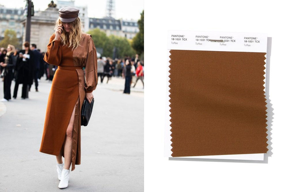 Brown Dress Street Style