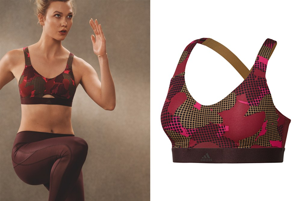 adidas Ready To Go Collection Karlie Kloss Sport Bra