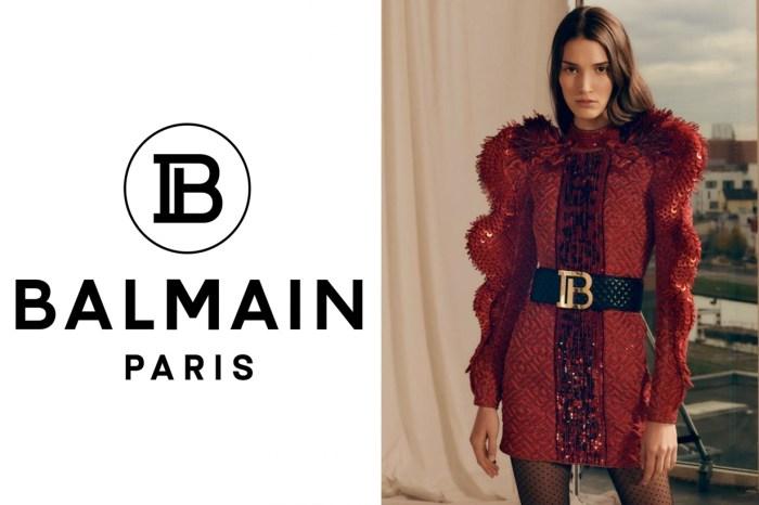 Balmain 公開新季 Pre-Fall 上的玄機,過了數十年…品牌換上嶄新 Logo!
