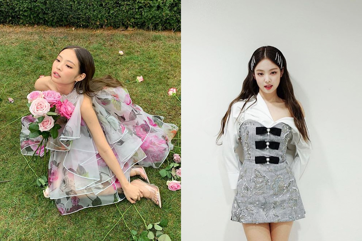 BLACKPINK Jennie Lisa Jisoo Rose Stylist Celebrities Styling  Melon Music Award Monse 2018 Fall Erdem Rebecca de ravenel K pop korean idols celebrities singers