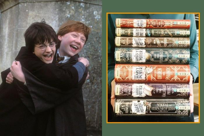 魔法粉絲一定要收藏,德國《Harry Potter》20 週年紀念版實在太美!