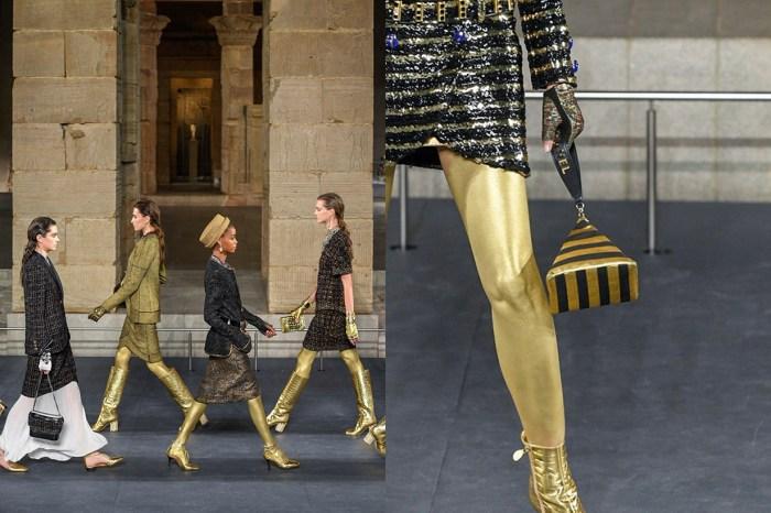 Chanel 早秋工坊系列神壇登場,金字塔手袋、法老王飾品帶你穿越古埃及!
