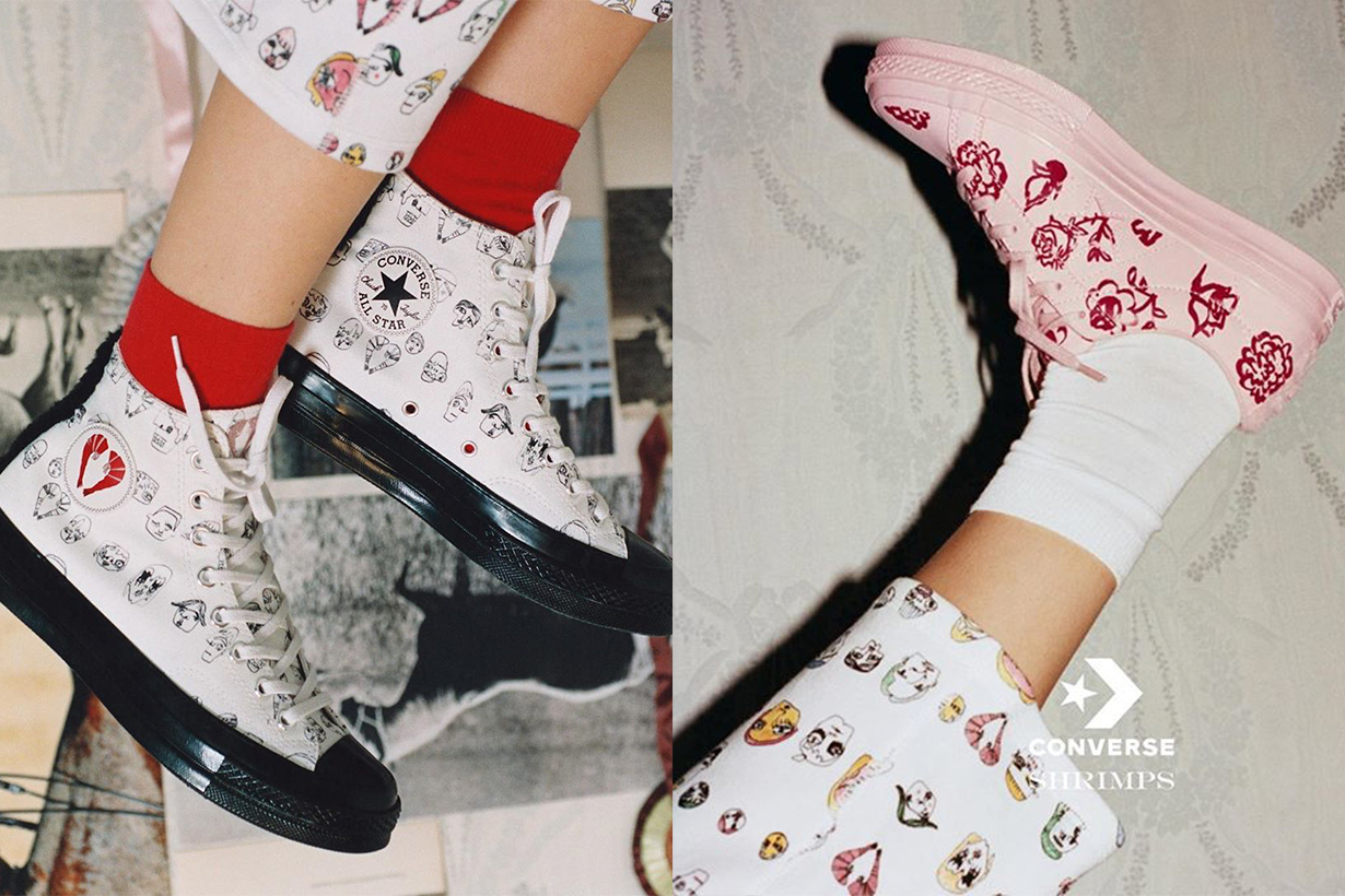 Converse X Shrimps collection 2018