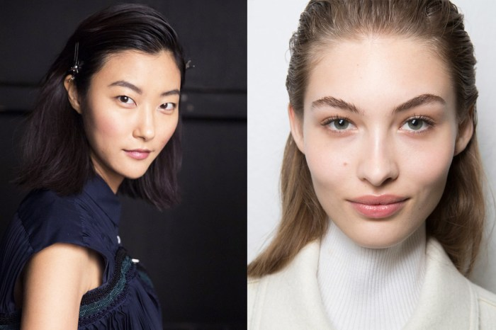 該畫直還是畫彎?2019 年流行的眉毛妝容現在告訴你!