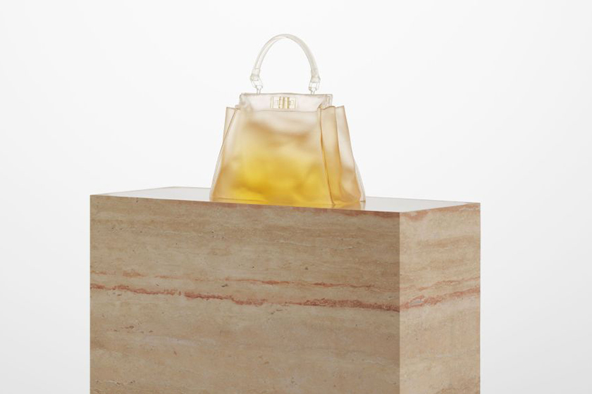 fendi presents the shapes of water by sabine marcelis