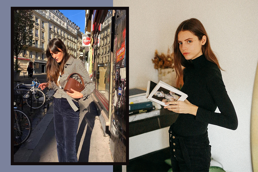 french style work outfit office look