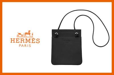 4a1099a47e6d Hermès 簡約包包Aline Bag 除了常見的帆布材質外,其實還有皮革款!