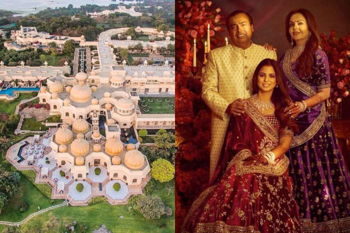 「瘋狂亞洲首富」包下宮殿花一億美金嫁女兒,這場世紀婚禮連電影都比不上…
