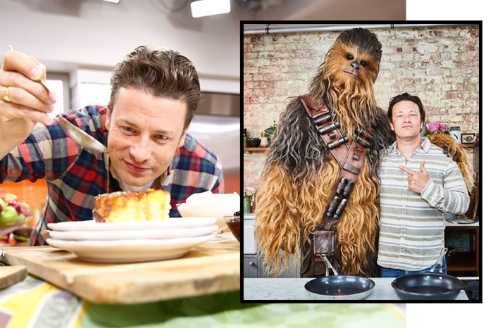 繼哈里和威廉王子後,名廚 Jamie Oliver 也將客串《星戰》電影!