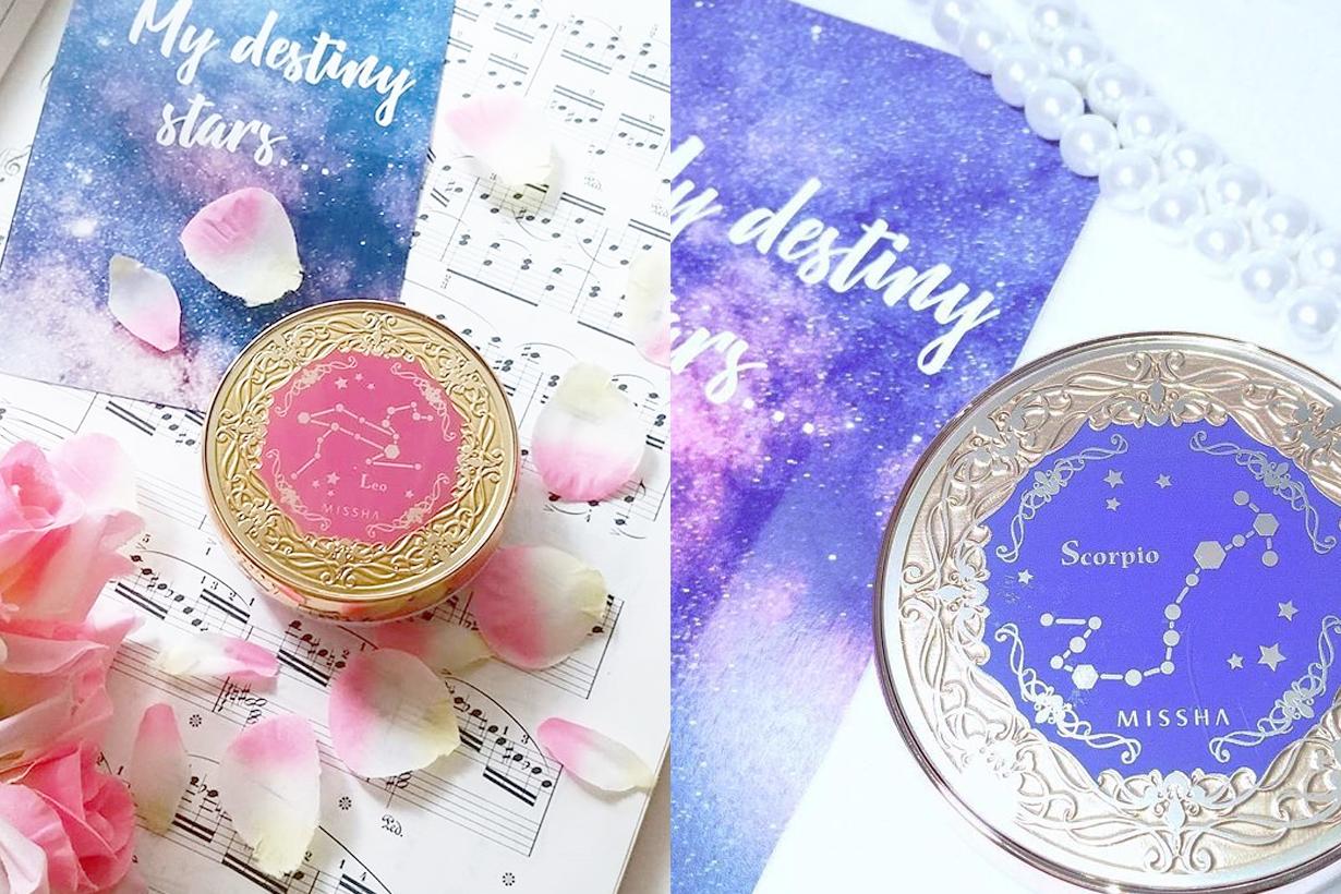 Japan Missha My Destiny Stars cushion foundation sign Aries Taurus Gemini Cancer Leo Virgo Libra Scorpio Sagittarius Capricorn Aquarius Pisces