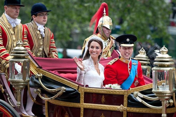 王妃也不一定要坐馬車!像凱特就選擇自己駕車進皇宮