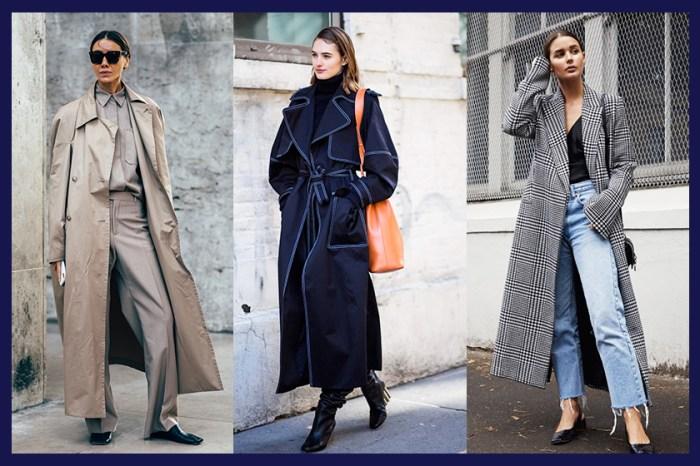 溫度與時尚度兼備:冬日最顯氣質的大衣,九分大褸造型 50+!