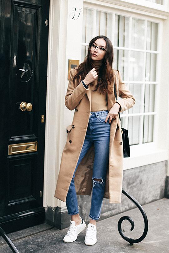 maxi COAT street style