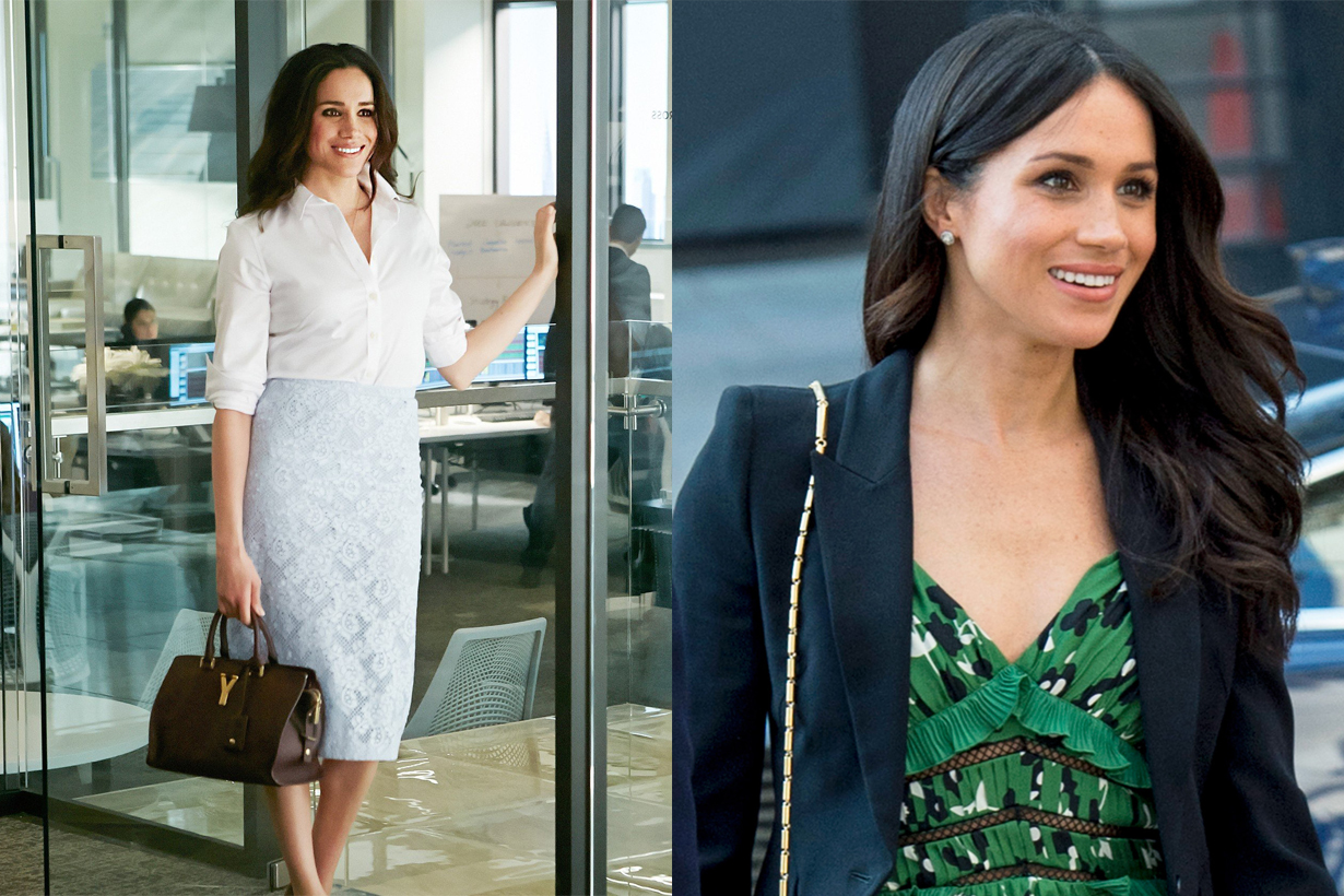 Meghan Markle Duchess of Sussex Hollywood actress Agent Gina Nelthorpe-Cowne acting showbiz career British Royal family member