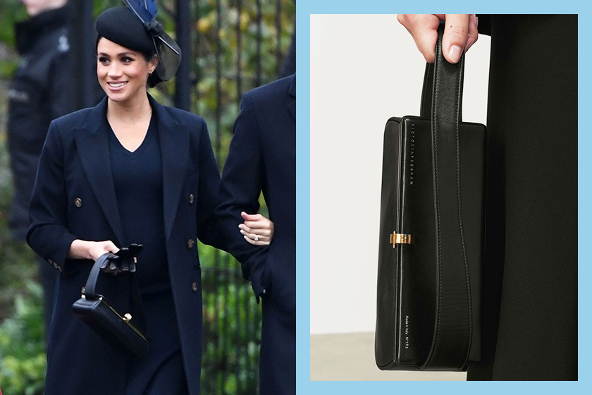 meghan-markle-chistmas-outfit-victoria-beckham-box-bag