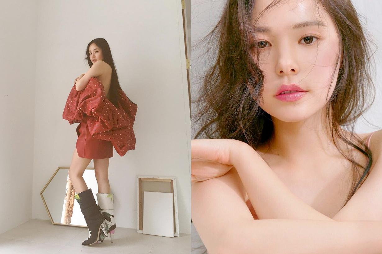 min hyo rin getting fat weight pregnant