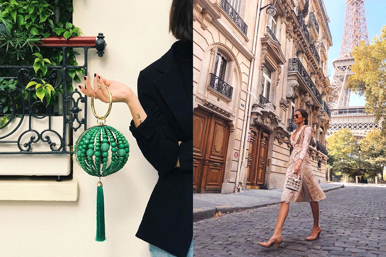 Rosantica by Michela Penero Milan based jewellery brands handbag line silk velvet crystals pearls bracelet designer instagram hit