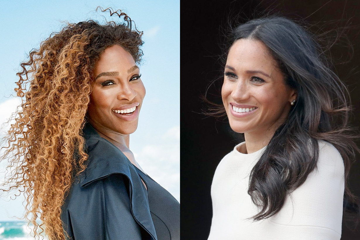 meghan markle serena williams powerful friendship closet friend